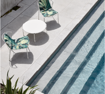 Tidal Lounger Luxury Poolside Lounge Chair