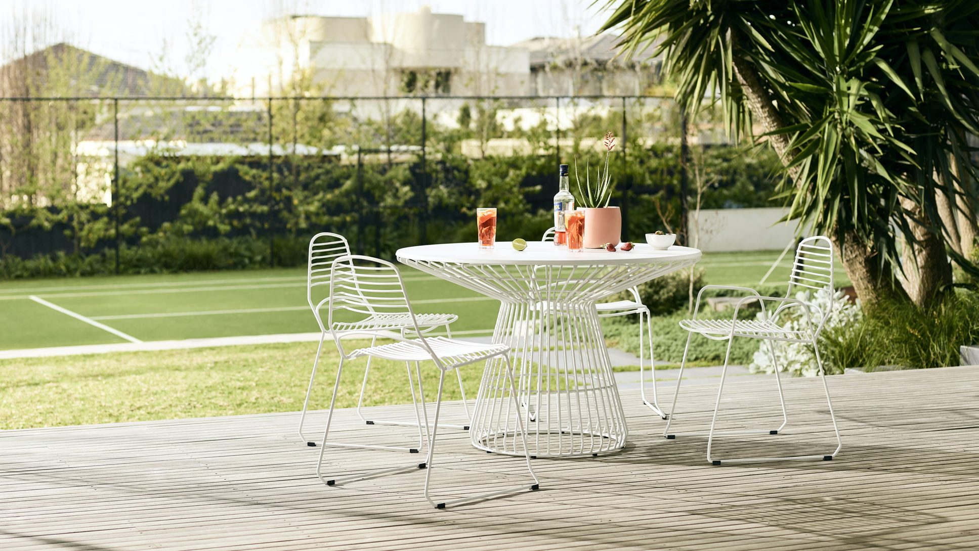 JIL PREMIUM METAL OUTDOOR SIDE TABLE