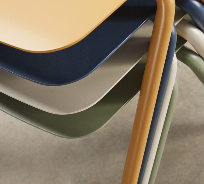 Stackable Chairs Suitable for Hospitality