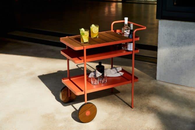 Luxury Outdoor Drinks Trolley