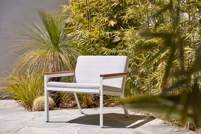 Premium Outdoor Upholstered Lounge Chair
