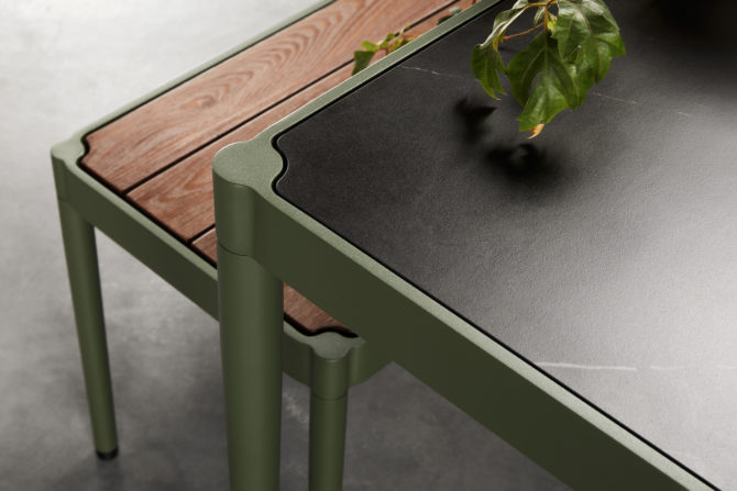 TRACE LUXURY OUTDOOR DINING TABLE